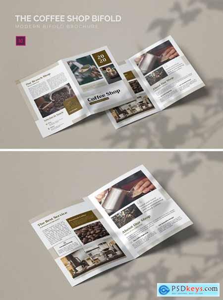 Coffee Shop - Bifold Brochure