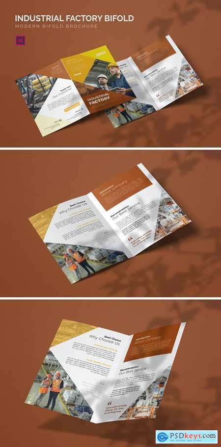 Industrial Factory - Bifold Brochure