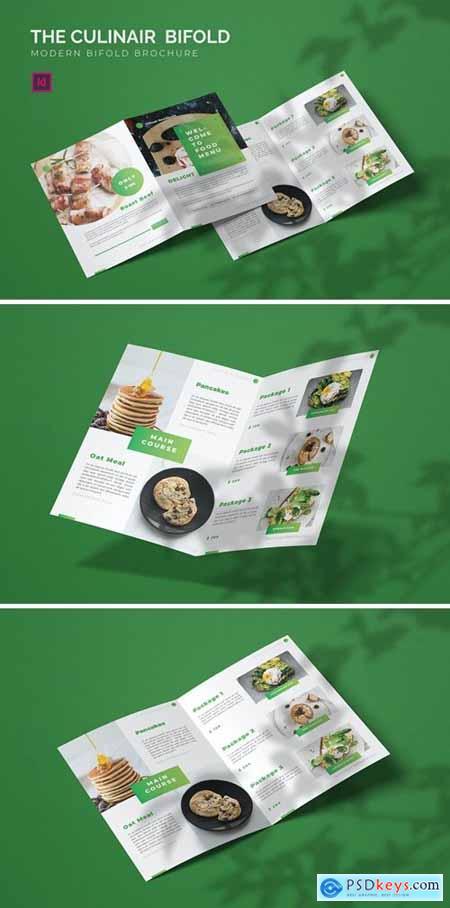 Culinair - Bifold Brochure