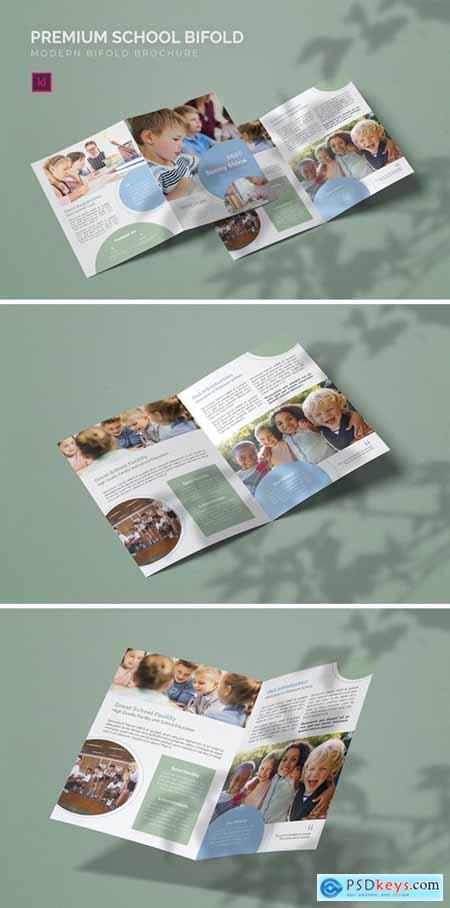 Premium School - Bifold Brochure