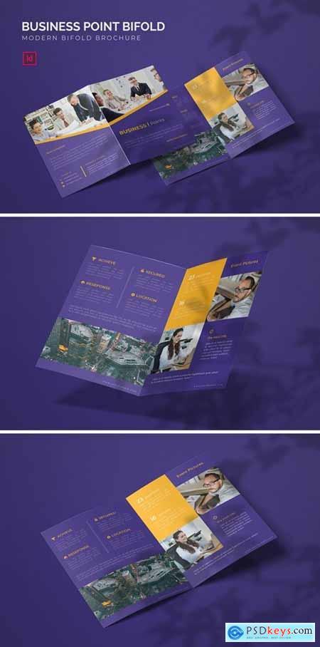 Business Point - Bifold Brochure