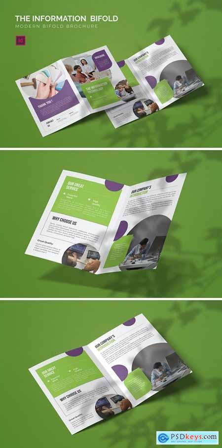 Information Technology - Bifold Brochure