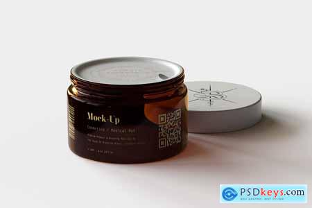 Amber Cosmetics Pot Mock-Up - Vol.1 5607993