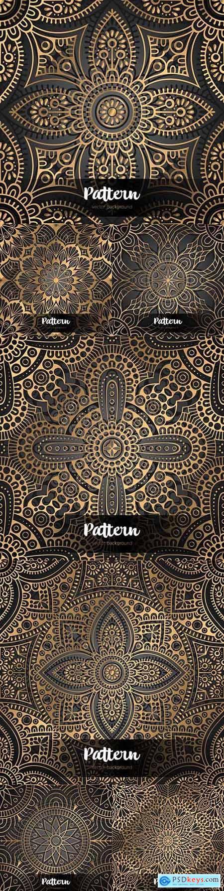 Elegance luxury Victorian motif traditional design pattern