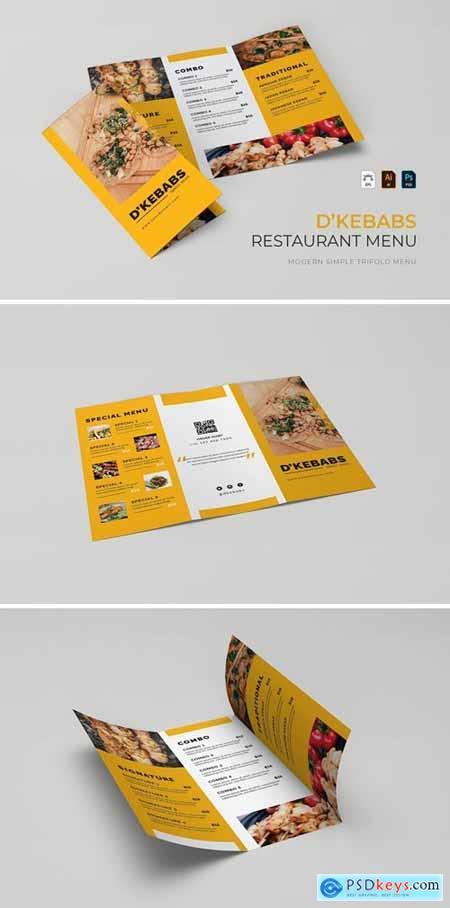 DKebabs - Restaurant Menu