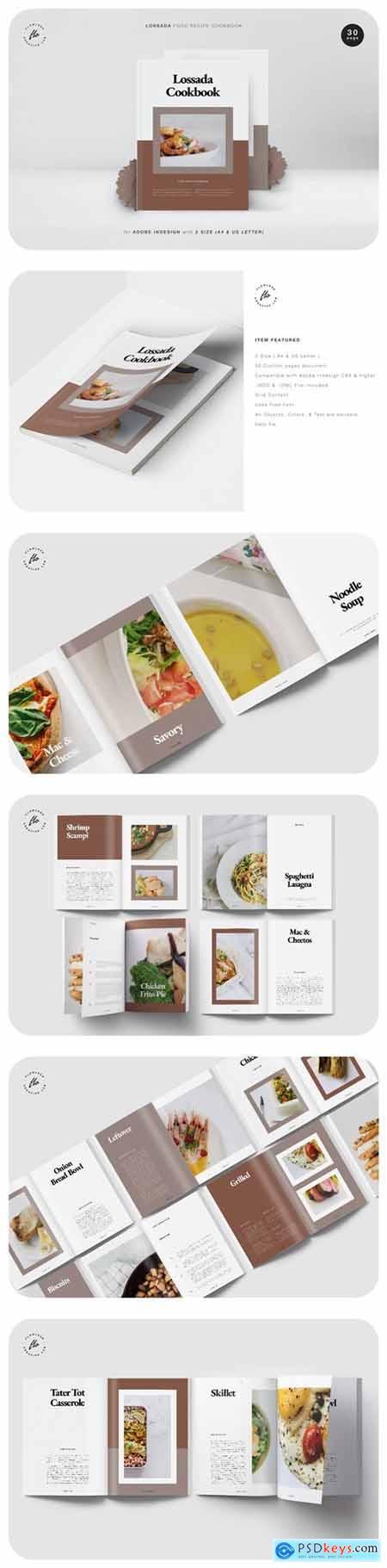 Lossada Food Recipe Cookbook
