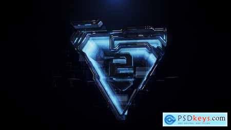 3D tech logo 29610293