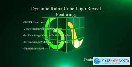 Dynamic Rubix Cube Logo Reveal 16957048