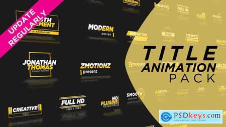 Animation Title Pack 29891353