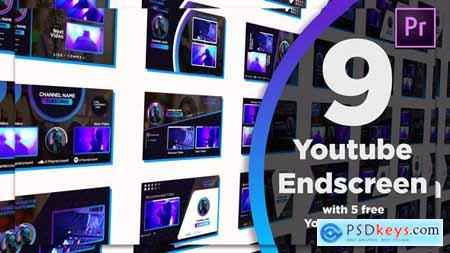 Youtube End Screens 9+5 28468368
