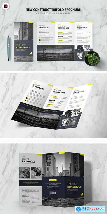 New Construct Concept Trifold Brochure