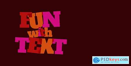 Fun With Text - Cartoon Titles Pack 12803364