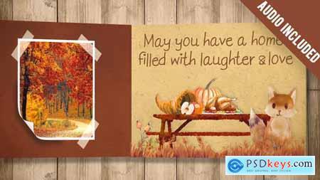 Thanksgiving Carrousel 20862431
