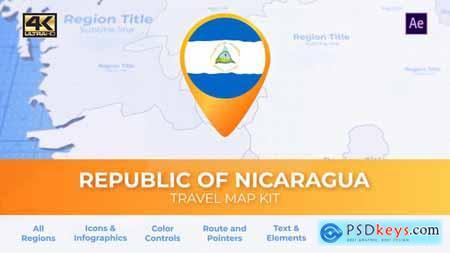 Nicaragua Map - Republic of Nicaragua Travel Map 29967731