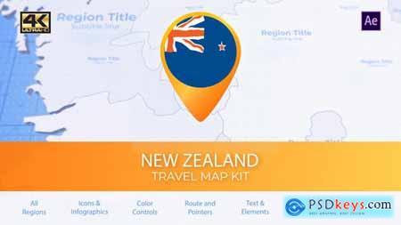 New Zealand Map - New Zealand Travel Map 29936255