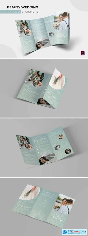 Beauty Wedding - Trifold Brochure