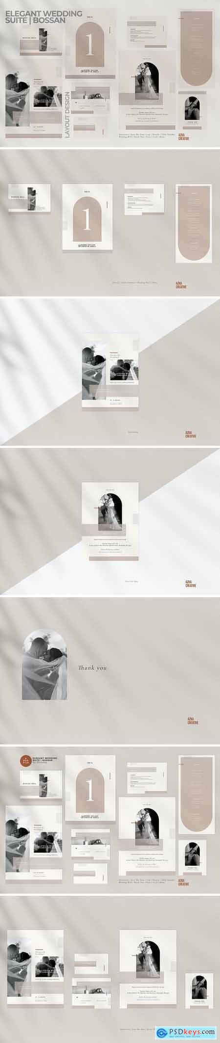 Elegant Wedding Suite - Bossan