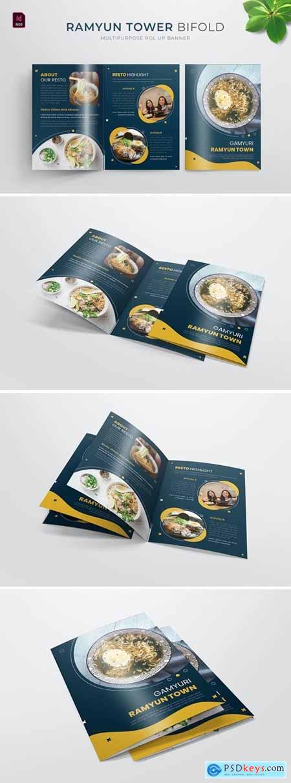 Ramyun Tower - Bifold Brochure