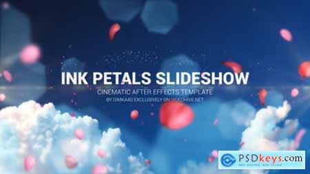 Ink Petal Slideshow 22370841