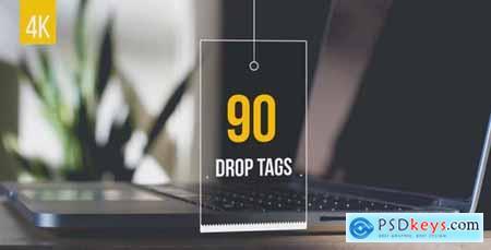 90 Drop Tags 19980498