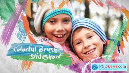 Colorful Brush Slideshow 23674567