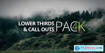4K- Lower Third & Call Out Pack 14720443