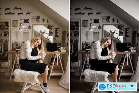 DARK MOODY Pro Lightroom Preset 5059288