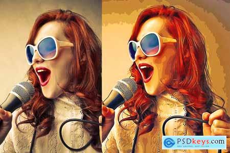 Oil Paint Cartoonizer 5507645