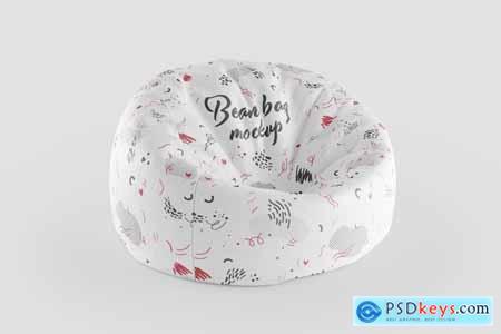 Bean Bag 3D Mockup 5342926