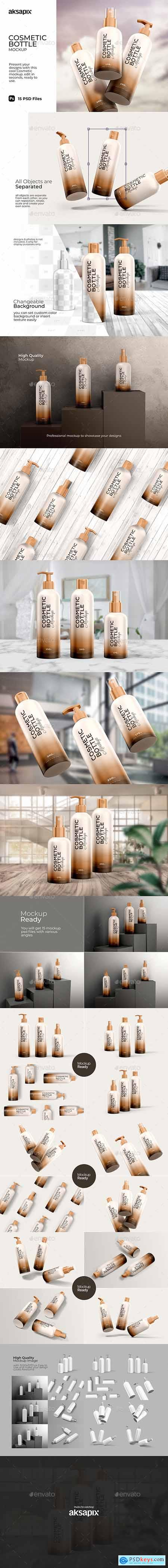 Cosmetic Bottle - Mockup 29898641