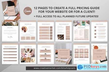 Pricing Guide & Info Template 5636467