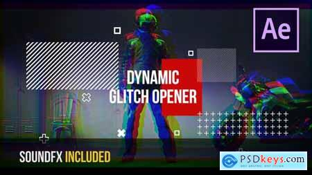 Dynamic Glitch Opener - After Effects 22112427