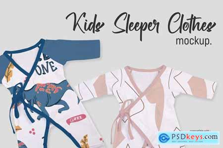 Kids Sleeper Clothes - Mockup 5751507