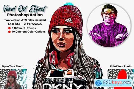 Vexel Oil Effect Photoshop Action 5725667