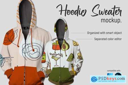 Hoodie Sweater - Mockup 5754511