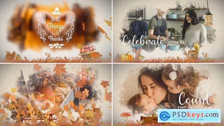 Thanksgiving Watercolored Slideshow 24971366