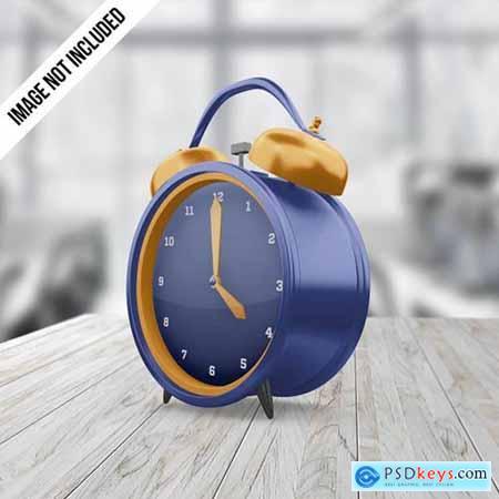 Alarm clock mockup