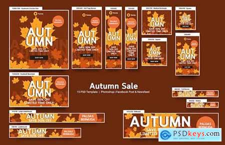 Autumn Sale Banners Ad