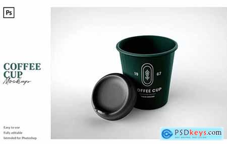 Coffee Cup MockupA