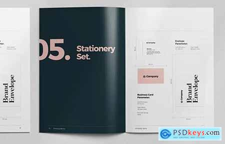 Brand Style Guide Layout