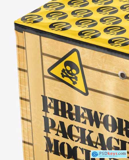 Fireworks Packaging Mockup 73139