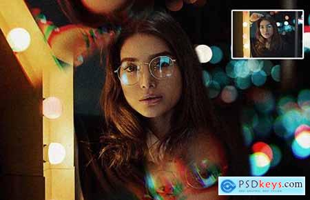 Prism Photo Template