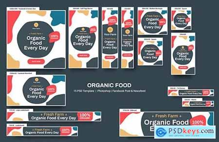 Organic Banners Ad