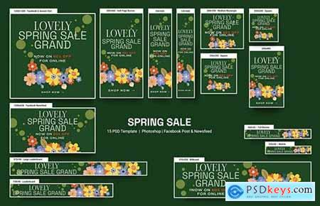 Spring Banners Ad