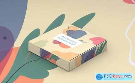 Packaging Box Mokcup