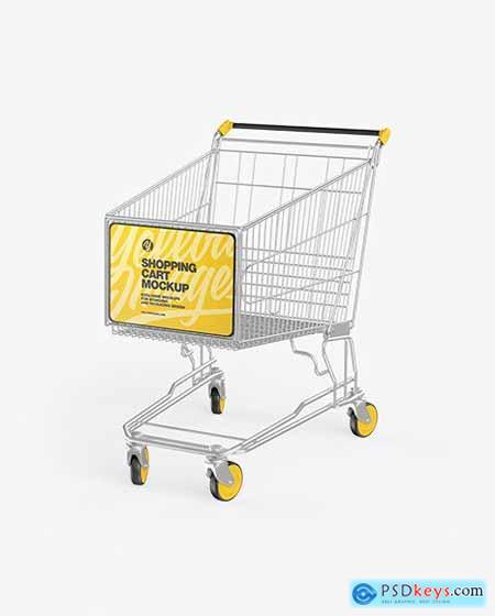Shopping Cart Mockup 72479