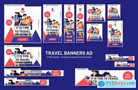 Travel Banners Ad