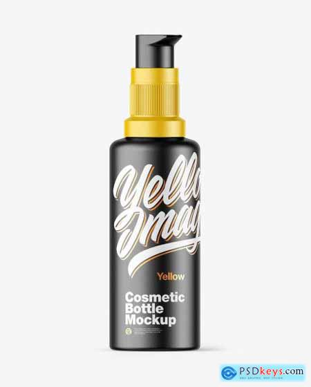 Matte Cosmetic Bottle Mockup 73021