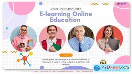 E-learning Online Education Slideshow 29956121