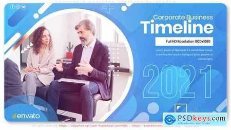 Corporate Business Timeline Slideshow 29956046
